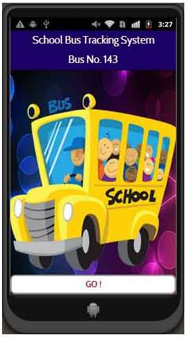 A mobile application which will help parents to track their children coming home from the school bus.